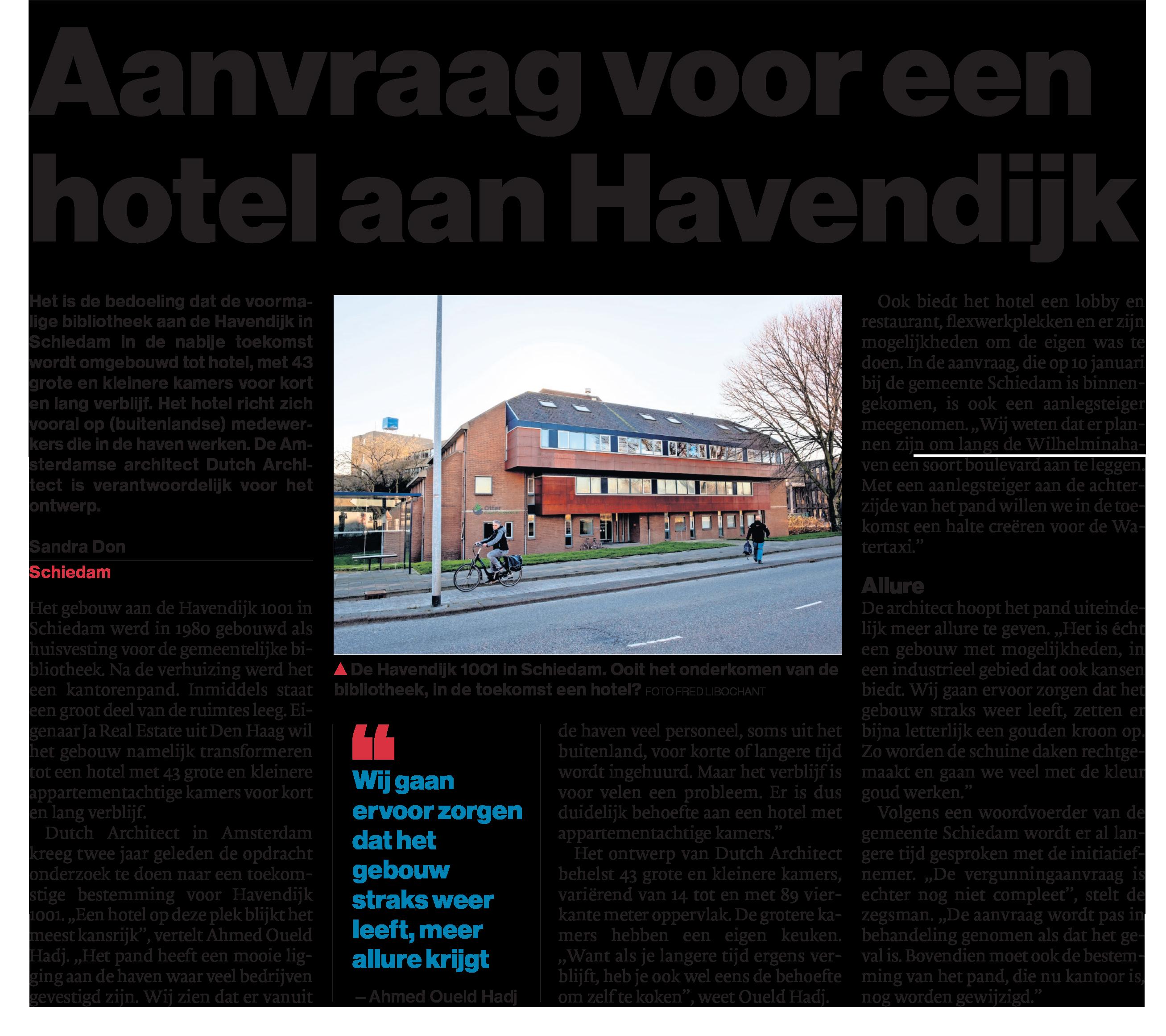 Hotel Havendijk 1001 Schiedam